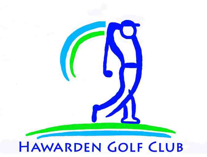Hawarden Golf Course -- a foursome with carts