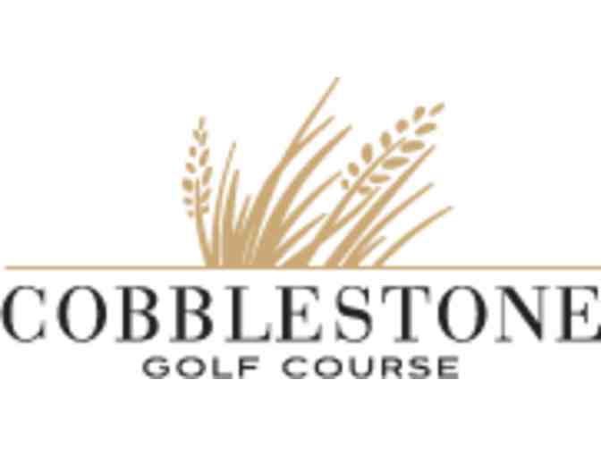 Cobblestone Golf Course - One foursome with carts