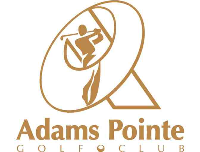 Adams Pointe Golf Club - One foursome with carts