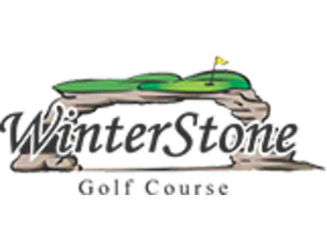 WinterStone Golf Course - One foursome with carts
