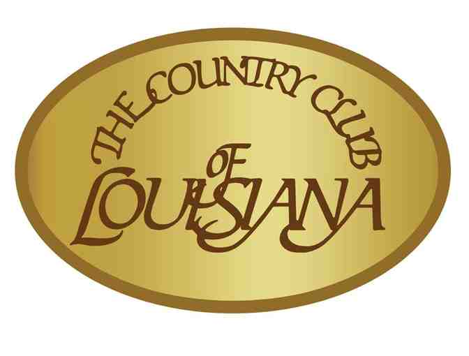The Country Club of Louisiana - One foursome with carts