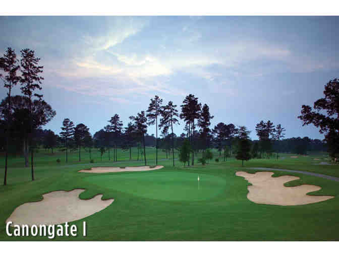 Canongate 1 Golf Club - One foursome with carts