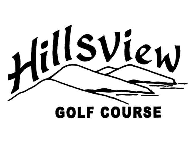 Hillsview Golf Course - One foursome