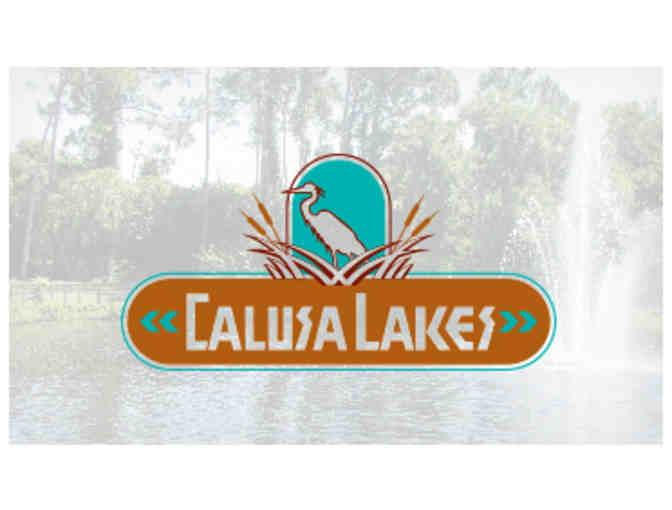 Calusa Lakes Golf Club - One foursome with carts