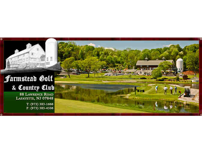 Farmstead Golf and Country Club - One foursome with carts