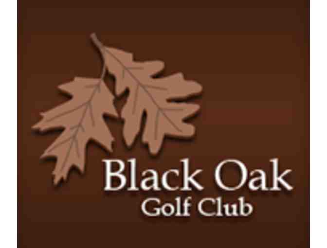 Black Oak Golf Club - One foursome with carts