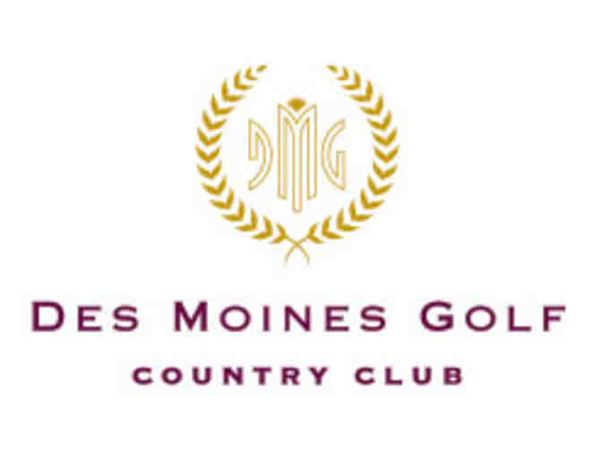 Des Moines Golf & Country Club - a foursome with carts