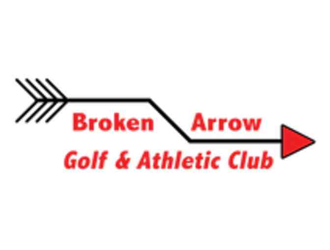 Broken Arrow Golf & Athletic Club - One foursome with carts
