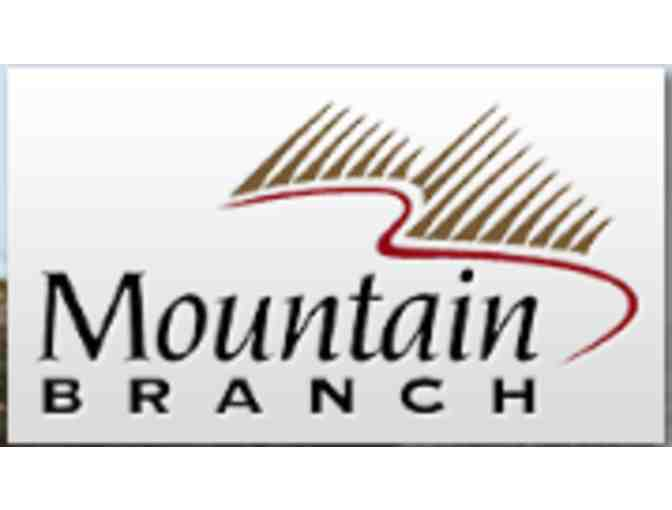 Mountain Branch Golf Course - One foursome with carts