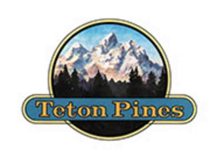 Teton Pines Resort & Country Club - One foursome with carts