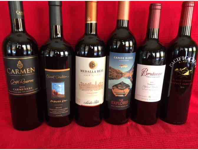 CASE OF AFFORDABLE RED WINES
