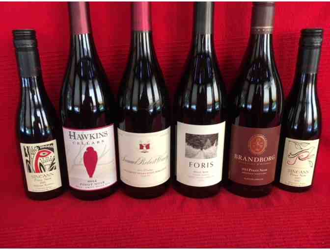 SIX PACK OF NORTHWEST PINOT NOIRS