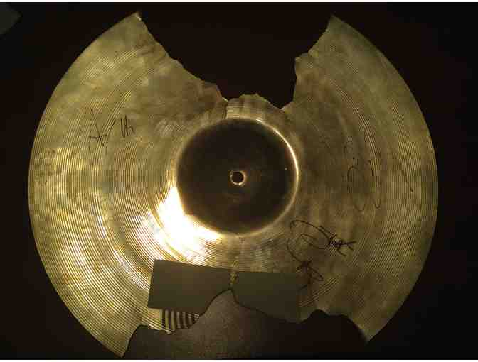 Halestorm Signed Drum Cymbal