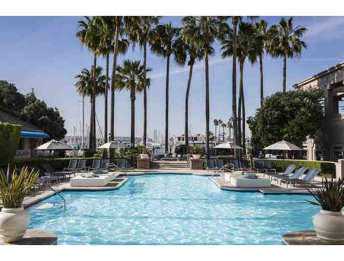 One Night Stay with Breakfast for 2 and Valet Parking at The Ritz Carlton Marina del Rey