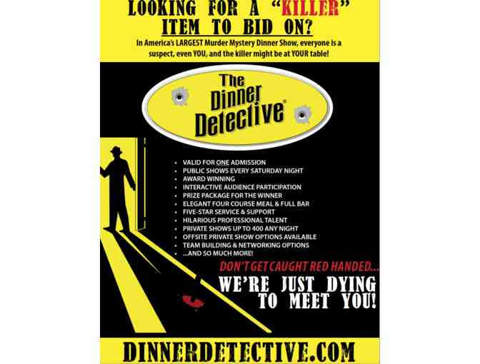 1 Admission to the Dinner Detective - Long Beach