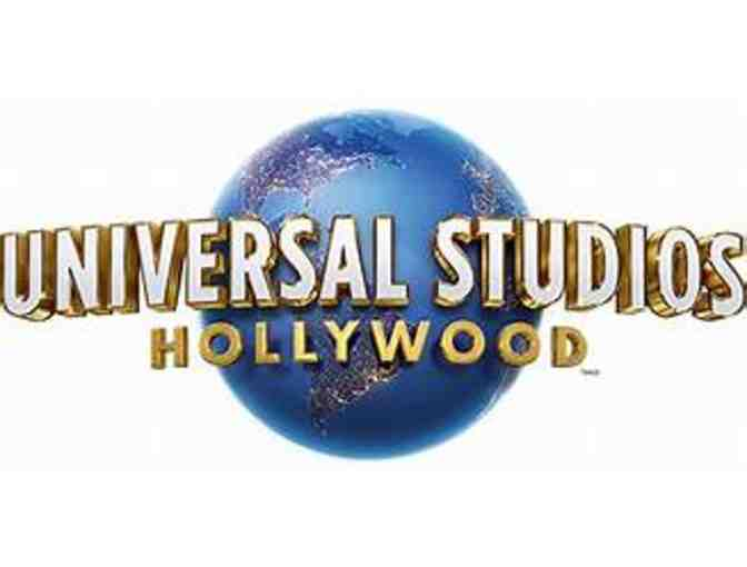 2 tickets to Universal Studios Hollywood!