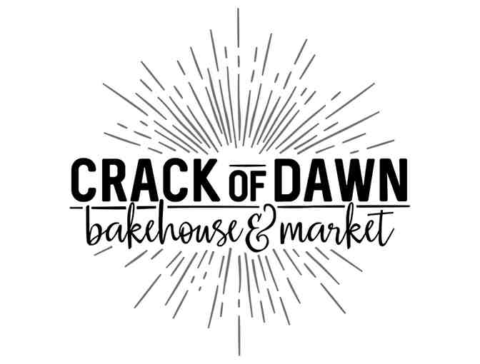 A Year of Bread Certificate for Crack of Dawn Bakery