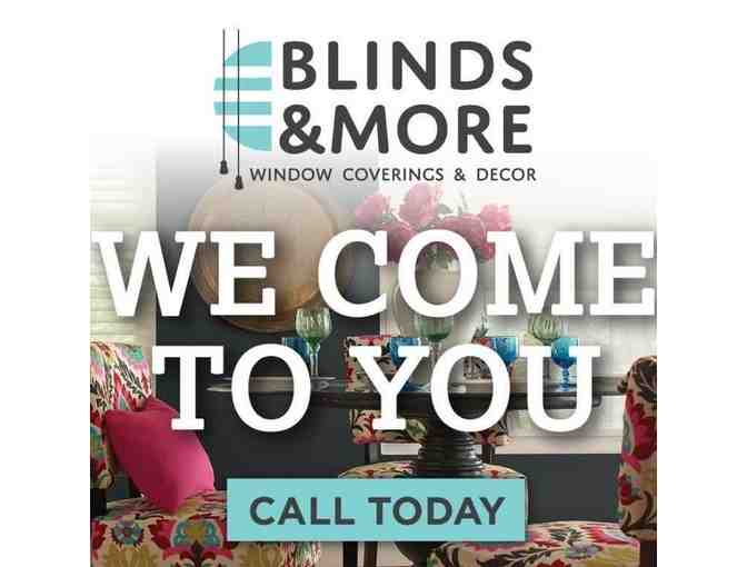 Blinds & More Gift Certificate $200.00 value