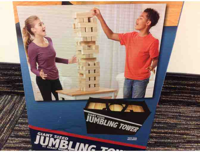 Jumbling Tower Game
