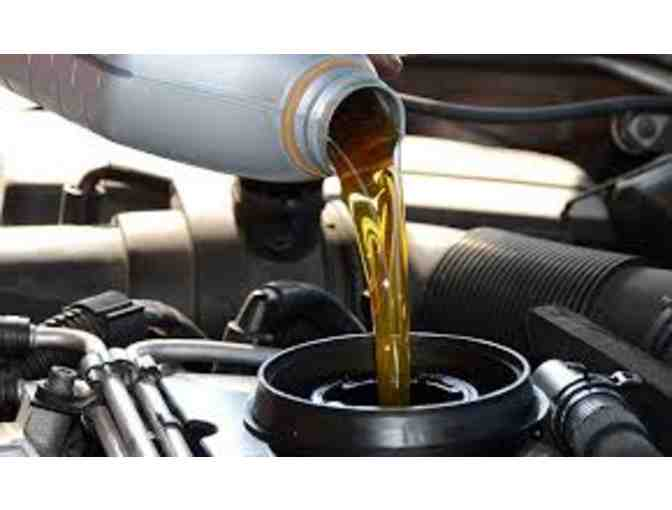 Wholesale Tire Oil Change Certificate (Item 1)