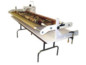 Handi Quilter - Quilting Frame and Carriage System - for use with home sewing machine