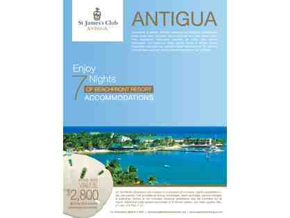 7 Nights in  Antigua at the St. James's Club