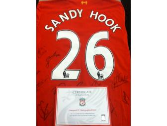 Signed Liverpool Home Shirt