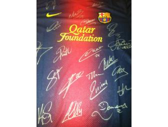 Signed Barcelona Home Shirt