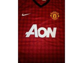 Signed Manchester United Home Shirt