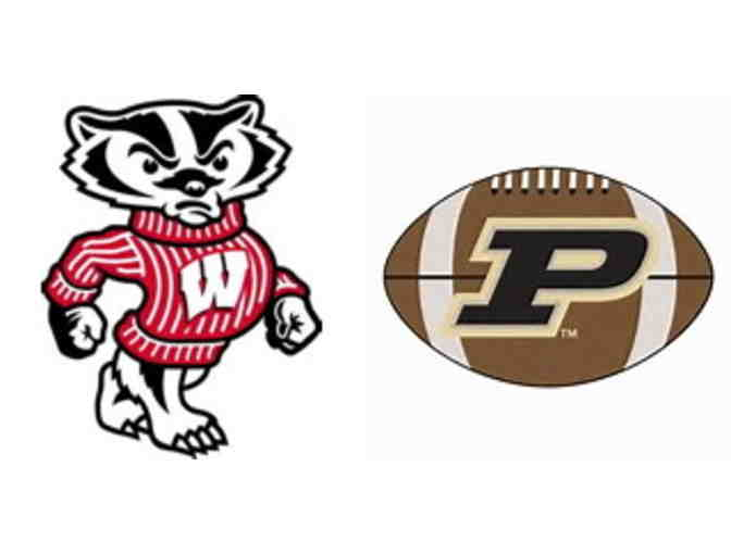 Two Tickets to UW Football vs. Purdue 10/14