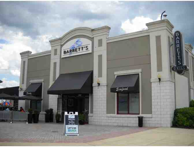 Barrett's Grill or Glyndon Grill $50 Gift Certificate