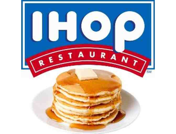 IHOP Meal Certificate for $25