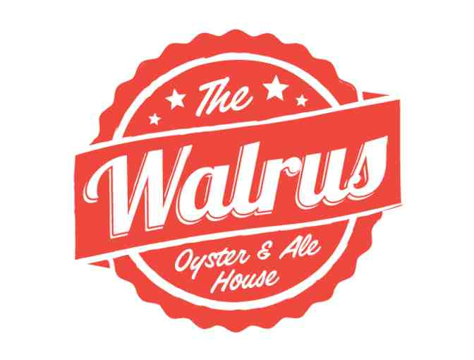 The Walrus Oyster & Ale House $25 Gift Card