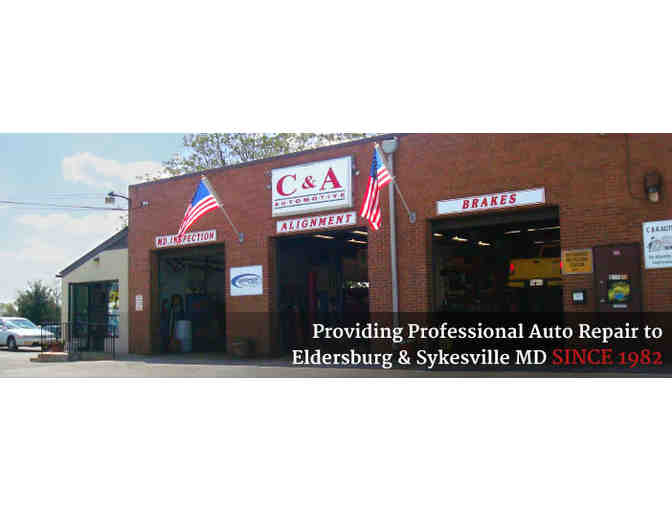 C&A Automotive - $50 Gift Certificate