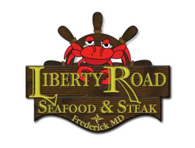 Liberty Road Seafood & Steak $25 Gift Certificate
