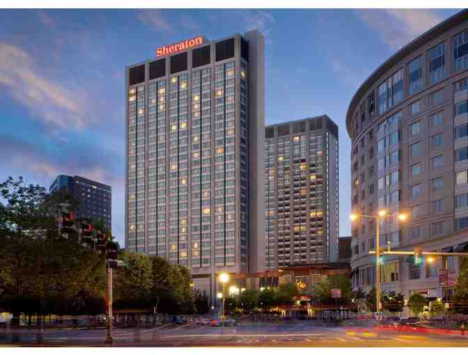 SHERATON BOSTON HOTEL - One (1) Night Stay with Breakfast for Two (2)