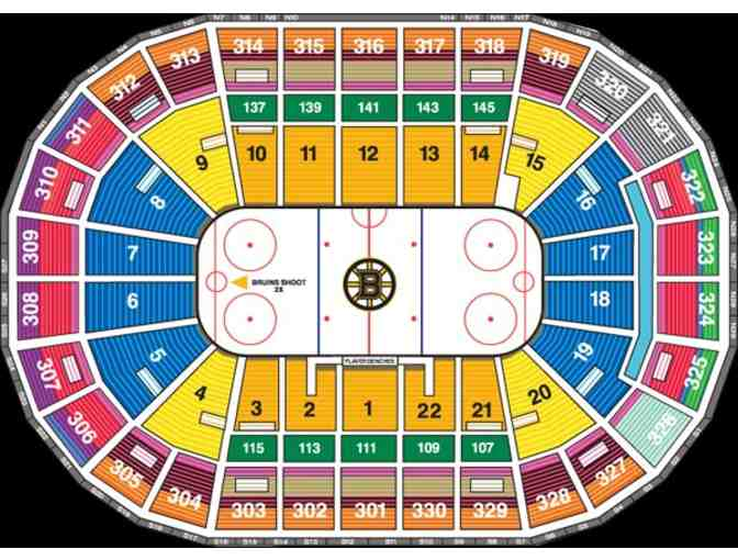 BOSTON BRUINS HOCKEY GAME: 2 Amazing Tickets Versus the Ottawa Senators