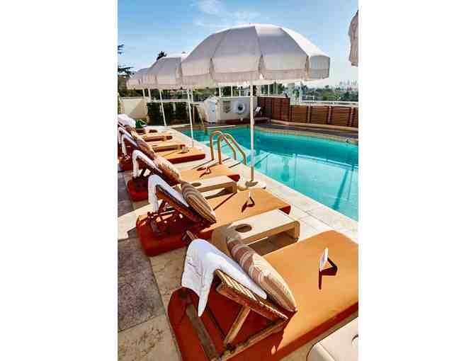 Sunset Tower Hotel in West Hollywood - One Night Stay and Breakfast for Two