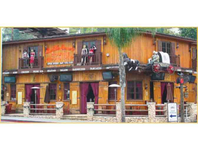 Saddle Ranch Chop House $150 Gift Certificate