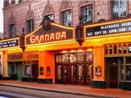 Granada Theatre - $50 Ticket Voucher