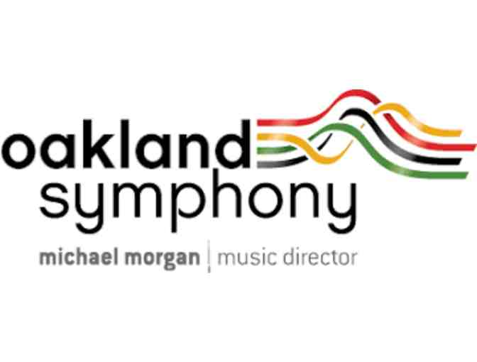 Two Tickets for the Oakland Symphony