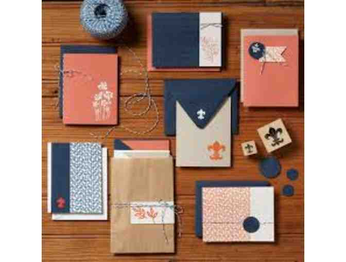 Private card-making workshop for 6 at PaperSource in Berkeley