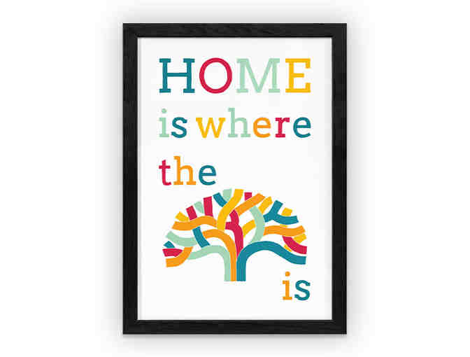 'Home is where the Oak is' art print by Shane Donahue