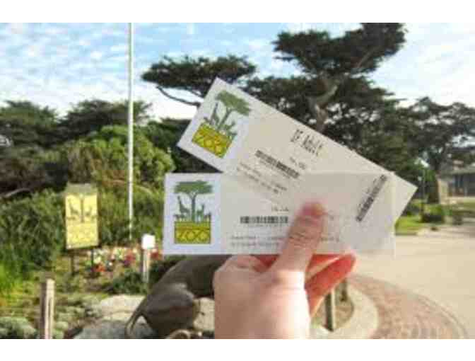 Two one-day passes for the San Francisco Zoo
