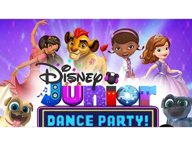 4 Tickets to Disney Junior Dance Party at the Fox!