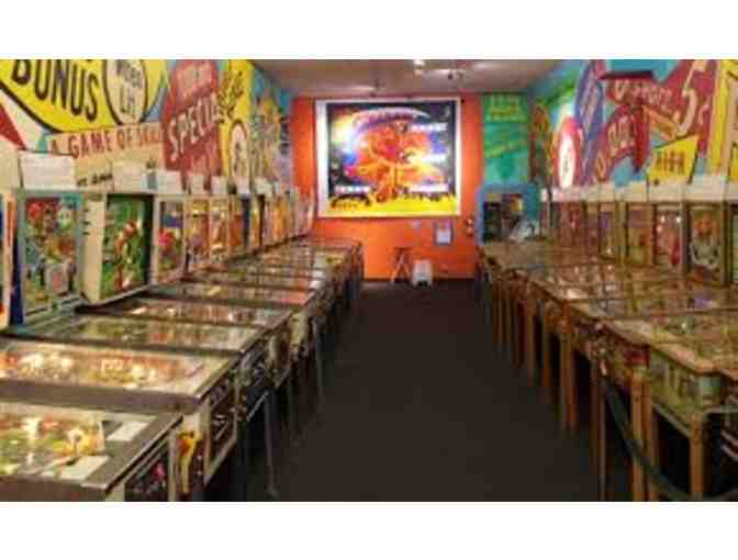 Full-day Family Pass to the Pacific Pinball Museum in Alameda!