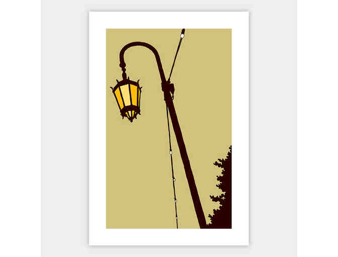 Lake Merritt 'Lake Lights' art print by Shane Donahue