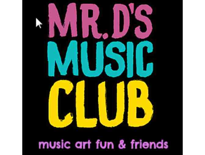 1 week of summer camp at Mr D's Music Club