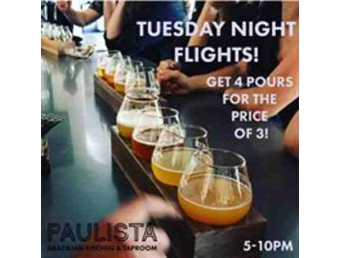 $50 gift card for Paulista Brazilian Kitchen & Taproom in Glenview!