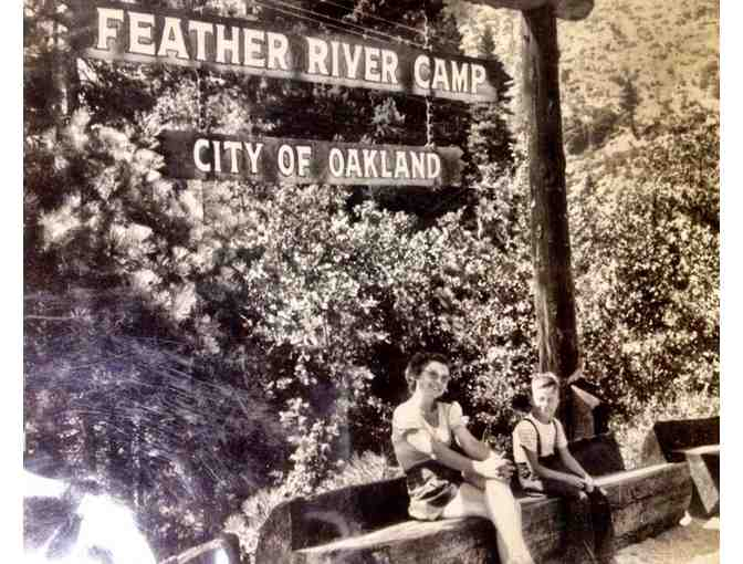 Four days of Feather River Family Camp in the Sierras